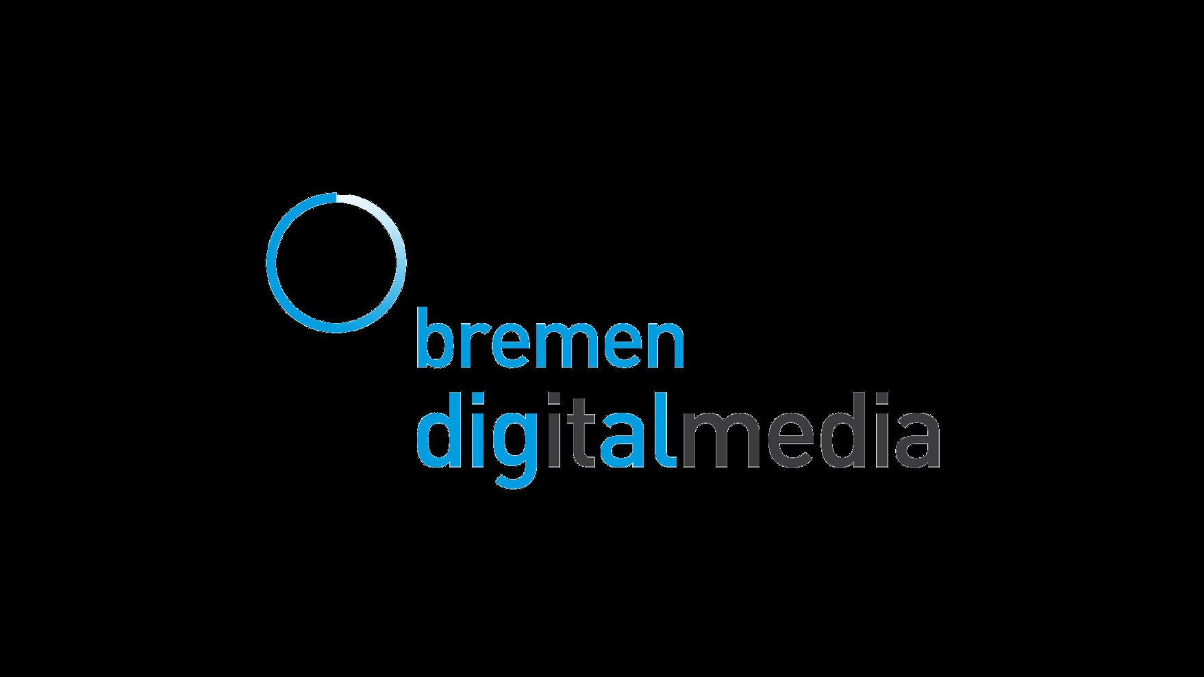 """Das Bild zeigt das Logo von """"bremen digitalmedia""""."""