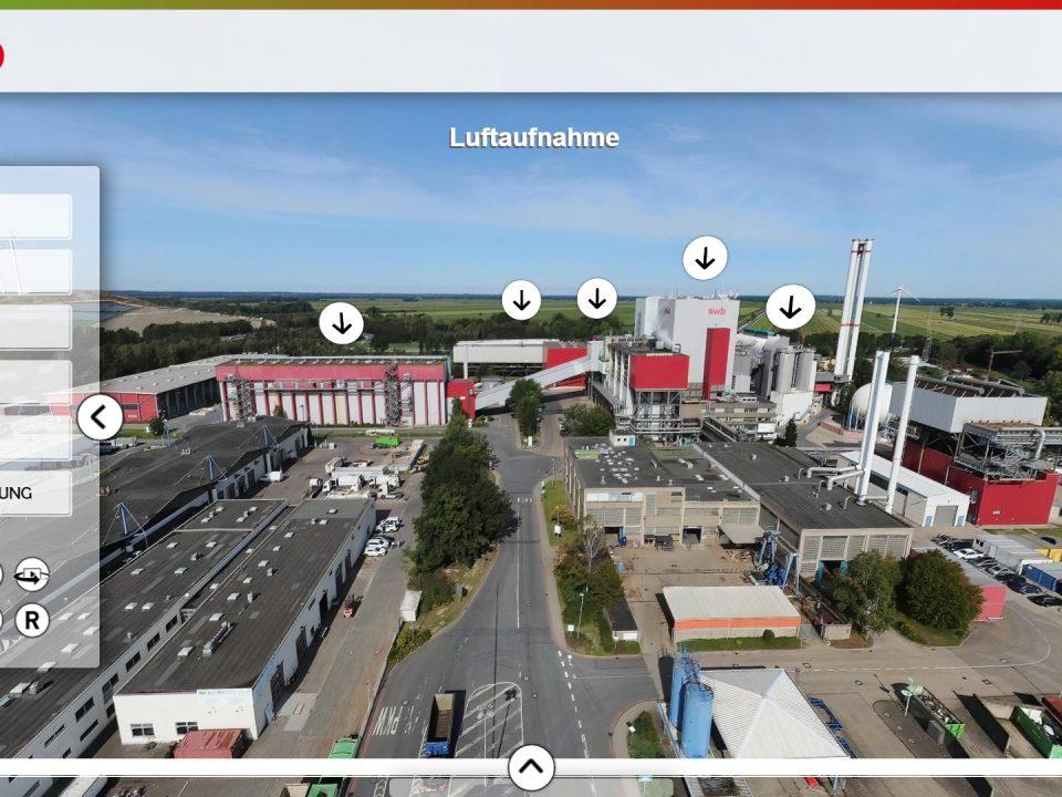 Das Müllheizkraftwerk von swb virtuell und interaktiv