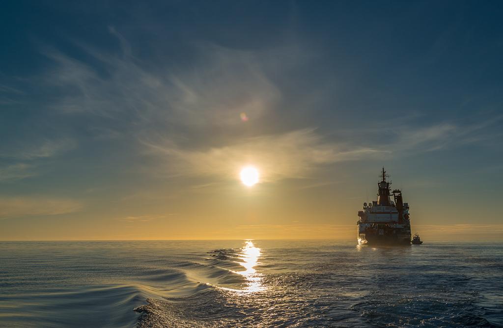Auf Forschungsfahrt vor Südafrika - METEOR Expedition M123