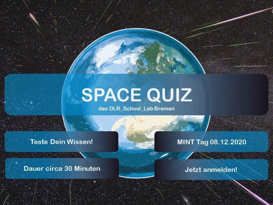 Space-Quiz mit dem DLR_School_Lab
