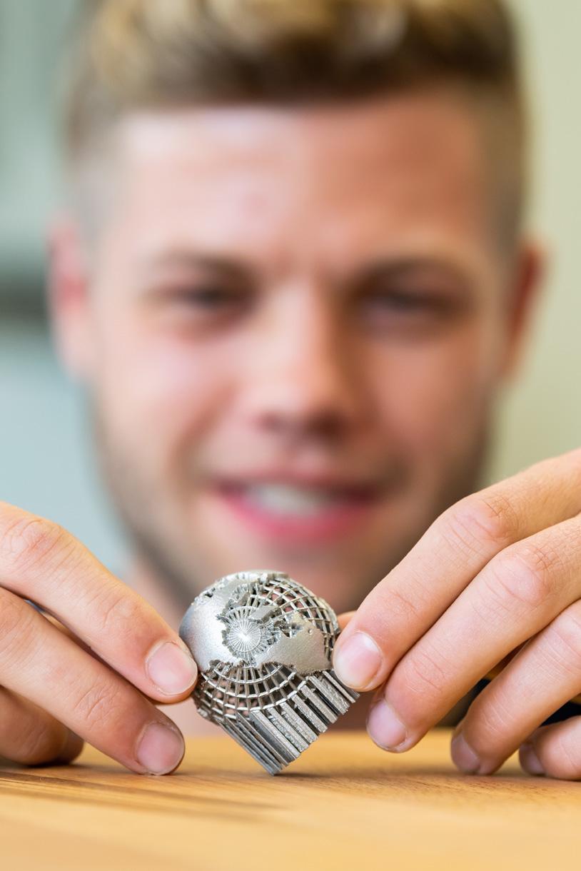 3D-Druck mit Metallpulver: Wie geht das?