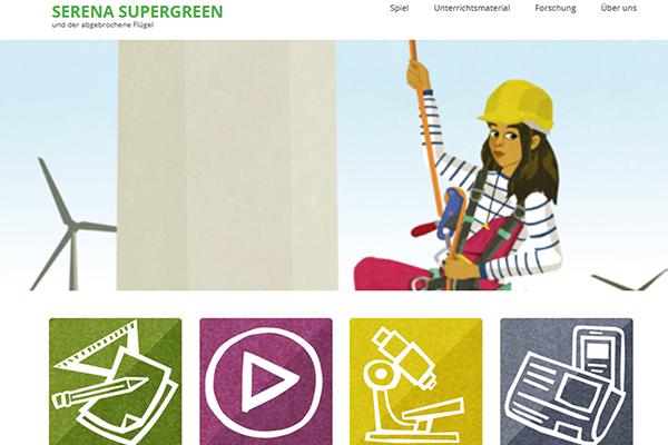 Mit Serena Supergreen die Welt erneuerbarer Energien entdecken (Block 1 / 8:30 Uhr - 10:00 Uhr)