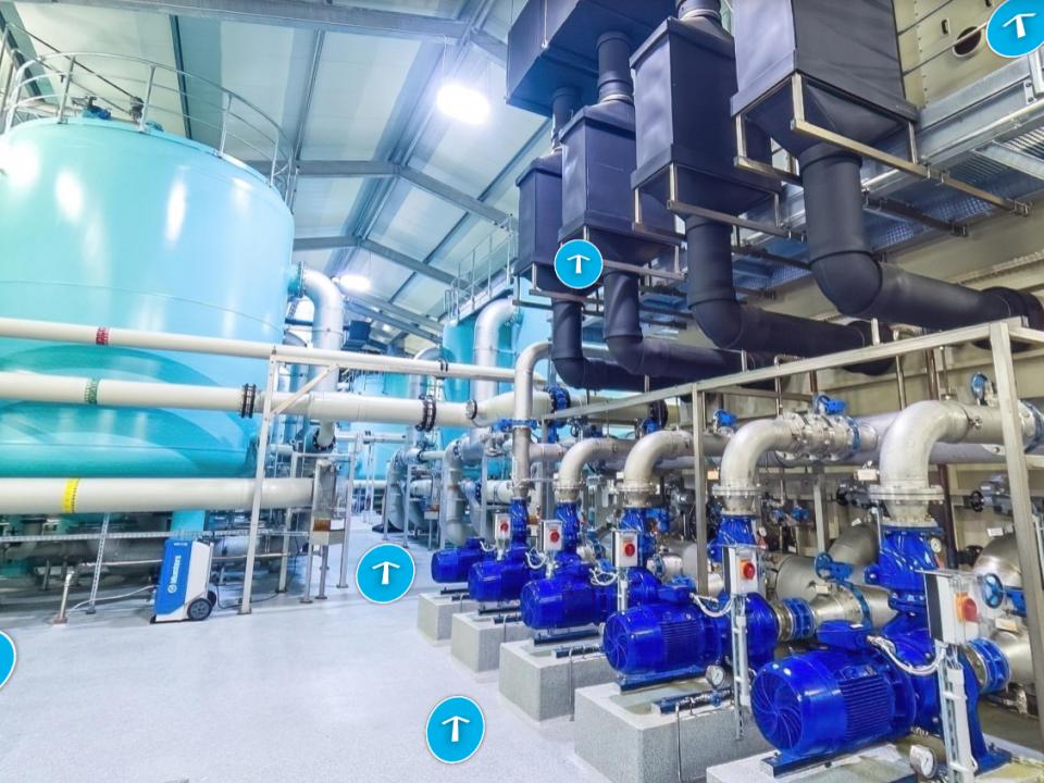 Trinkwasser aus Grundwasser: Das Wasserwerk Bexhövede virtuell und interaktiv