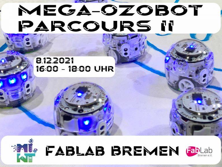 Der MEGA Ozobot Parcours II