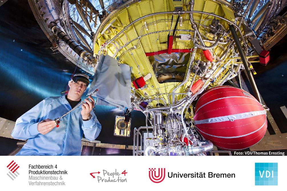 Raumfahrt: Schule, Studium und Beruf (Block 1 / 8:30 Uhr - 10:45 Uhr)